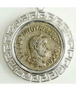 Philip I Silber Tetradrachme Antike Römische Münze Sterling Meander Beze... - $315.14