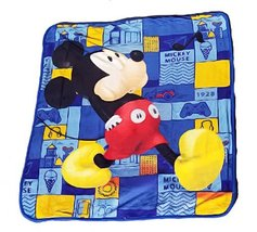 Disney Mickey Mouse Club House Plush Sherpa Baby Size Blanket - Railroad Whistli - $27.71