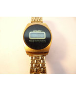 1978 TEXAS INSTRUMENTS LCD ALWAYS AND FOREVER INSCRIBED WATCH FOR REPAIR PARTS - $111.27