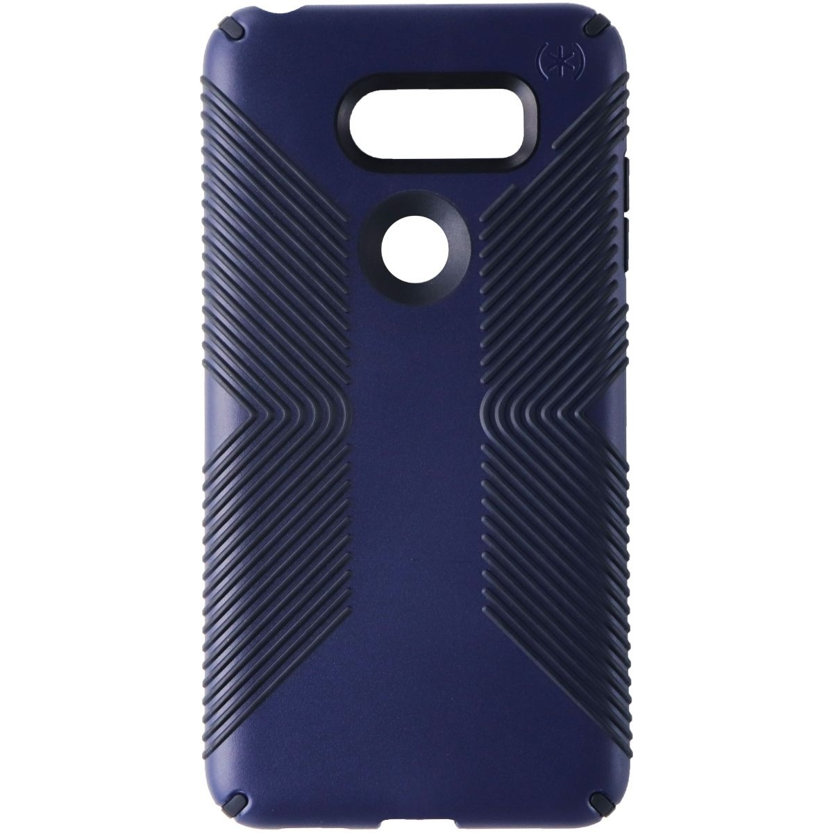 Speck Presidio Grip Phone Case for LG V30 - Eclipse Blue / Carbon Black