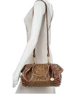 NWT Brahmin Leather Small Faye Satchel / Shoulder Bag in Toasted Almond Melbourn