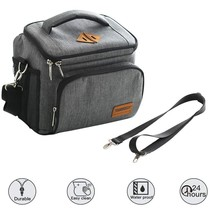 Small Lunch Cooler for Woman 12 Can Collapsible Insulated Mens Hard Lunc... - $19.60