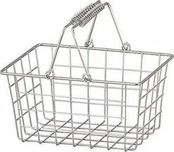 *Abite storage basket chrome wire basket S SWZ-001-AA - $18.65