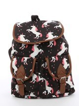 Unicorn Print Travel Backpack Bag Accesory - €18,03 EUR