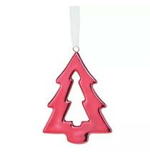 Avon Metallic Red Tree Ornament - $15.00