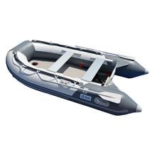 BRIS 9.8 ft Inflatable Boat Dinghy Yacht Tender Fishing Raft Pontoon W/Air Floor image 5
