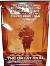 2005 THE GREAT RAID Signed Poster JOHN DAHL Marcelino Cavestany CESAR MO... - $44.99