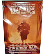 2005 THE GREAT RAID Signed Poster JOHN DAHL Marcelino Cavestany CESAR MO... - $44.99