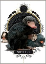 Fantastic Beasts The Crimes of Grindelwald Nifflers on White Magnet Harry Potter - $3.99