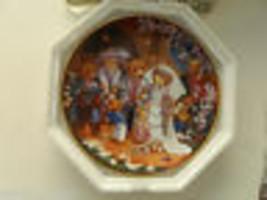 """Franklin Mint Collector Plate  """"Teddy Bear Wedding""""  Art by Carol Lawson... - $12.86"""