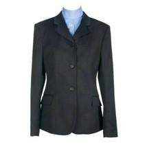 Devon Aire Ladies Hunt Coat Stretch Black 8 Regular NEW! image 1