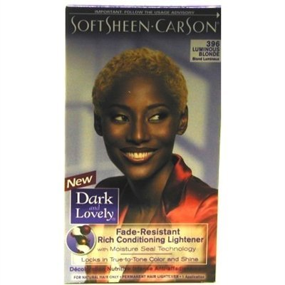Dark & Lovely Color #396 Luminous Blonde (2 Pack)