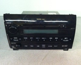 Toyota C1620-0C211 Radio Stereo MP3 CD Player AD1803 for Sequoia Tundra - $30.00