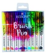 Royal Talens Ecoline Liquid Watercolor Brush Pen, Set of 10 Colors 11509... - $21.10