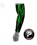 Titanium Baseball Sports Compression Moisture Wicking Arm Sleeve (Green ... - $7.99