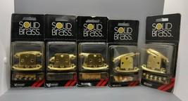 2 Amerock C-1457-3 Polished Brass Hinges x5 - $21.00