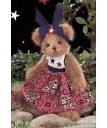 "Bearington Bears ""Penny Patriotic""  10"" Plush Bear- #161999 - New- 2007 - $29.99"