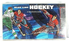 Vintage Blue Line Hockey Board Game 1969 3M Sports Games Complete - $59.99