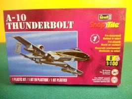 Revell A-10 Thunderbolt Snap Tite Easy Kit #85-1371 1:100 scale model ki... - $14.99