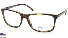 New Polo Ralph Lauren Ph 2151 5003 Shiny Dark Havana Eyeglasses Frame 56-17-145 - $87.11