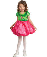 Rubies Adorable Poofy Posh Hot Pink and Green Strawberry Girl's Costume ... - $19.59