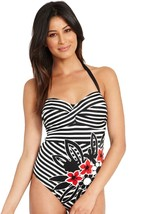 Fantasie Genoa WP FS5837 Underwired, Padded Halter Swimsuit - $41.19
