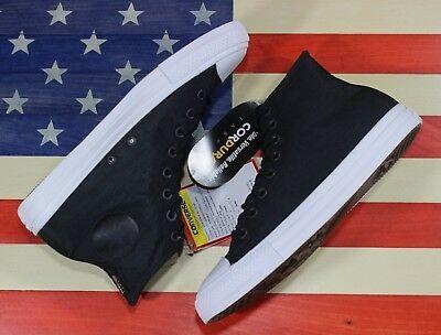 CONVERSE SAMPLE Chuck Taylor ALL-STAR HI Cordura Black White Shoe [157516C] sz 9 image 6