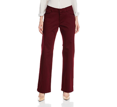Lee Platinum Women's Madelyn Natural-Fit Trousers, Mulberry NWOT 8 Short image 1
