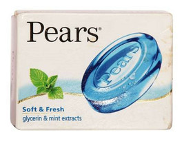 Pears Soft & Fresh Glycerin Soap 75GM  X 1 pack - $5.89
