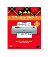 Scotch Thermal Laminating Pouches, 5 Mil Thick for Extra Protection, 100-Pack - $29.91