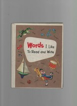 Words - I Like to Read & Write - Mabel O'Donnell - HC - 1962 Row, Patter... - $4.05
