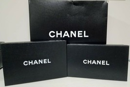 3 Authentic Chanel Gift Boxes 1 Handbag Box 2 Shoe Box - $98.99