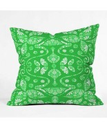 DENY Designs Paula Ogier Lush Life Throw Pillow, 16-Inch by 16-Inch - $33.29