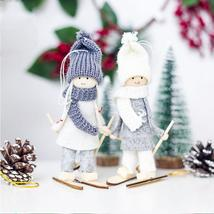 Angel Girl Ski Pendant For Christmas Tree Decoration 2019 New Year Creat... - $2.46+