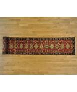 3'x16' Hand Knotted XL Runner Karajeh 100 Percent Wool Fine Oriental Rug... - $1,245.31