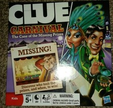 Clue Carnival: The Case of the Missing Prizes by Hasbro - Board game for... - $11.88
