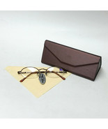 Brown Reading Glasses +1.00 Spring Temples w/ Metallic Brown Fold-able Case - $19.99