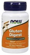 Now - Gluten Digest 60 Veggie Capsules - $16.73