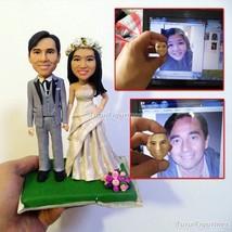 Turui Figurines custom birthday cake topper funny retirement cake topper... - $148.00