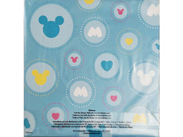 "Disney Micky & Minnie 6x6"" Decorative Accordion Photo Album w/Ribbon Closure image 2"