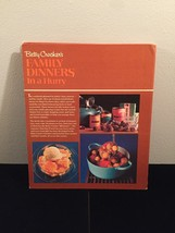 Vintage 1970 Betty Crocker's Family Dinners in a Hurry Cookbook- hardcover image 7
