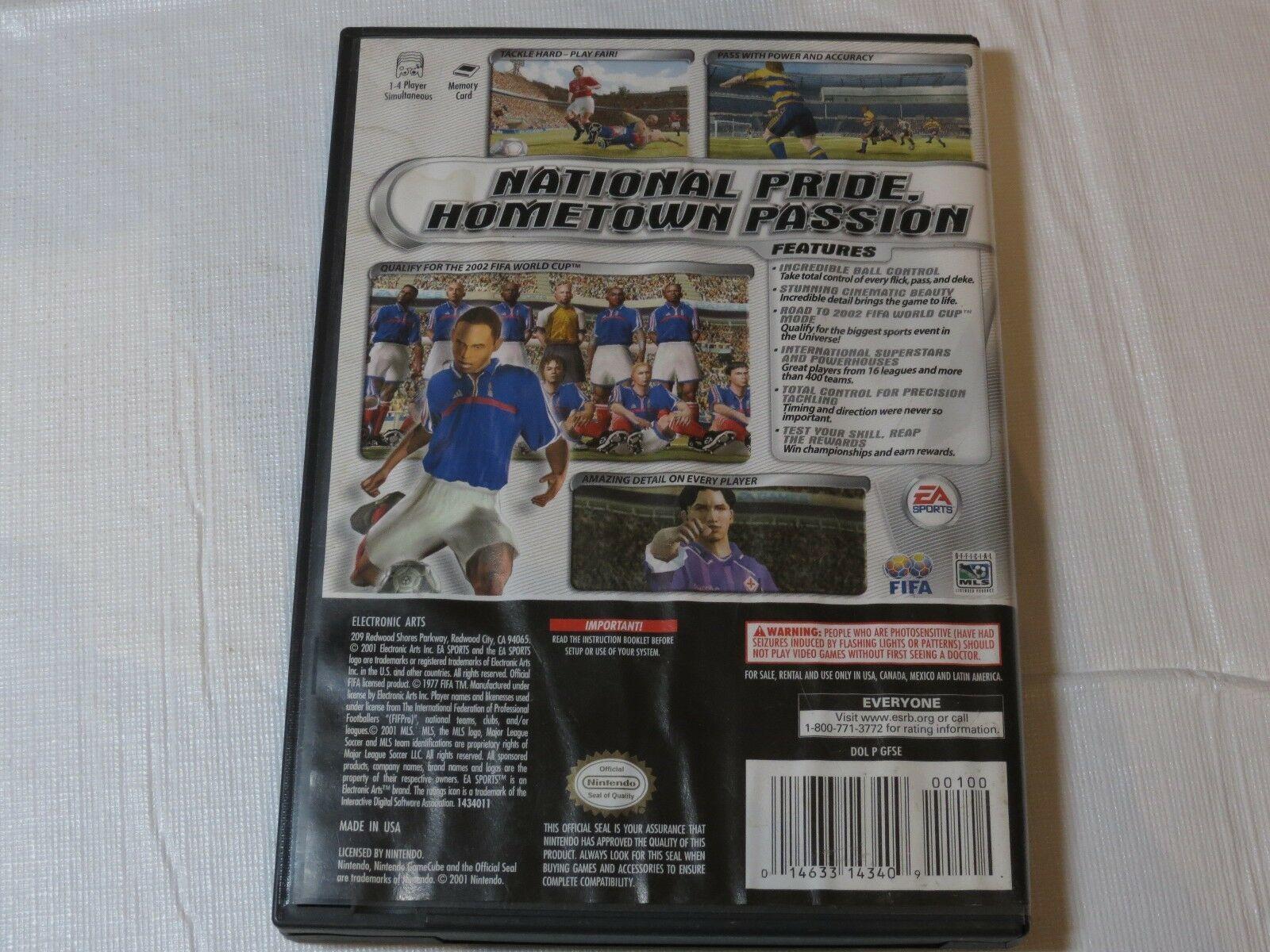 Fifa Calcio 2002: Major League Calcio (Nintendo Gamecube,2001)