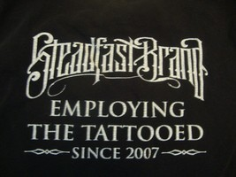 Steadfast Brand black tank top size L - $19.79