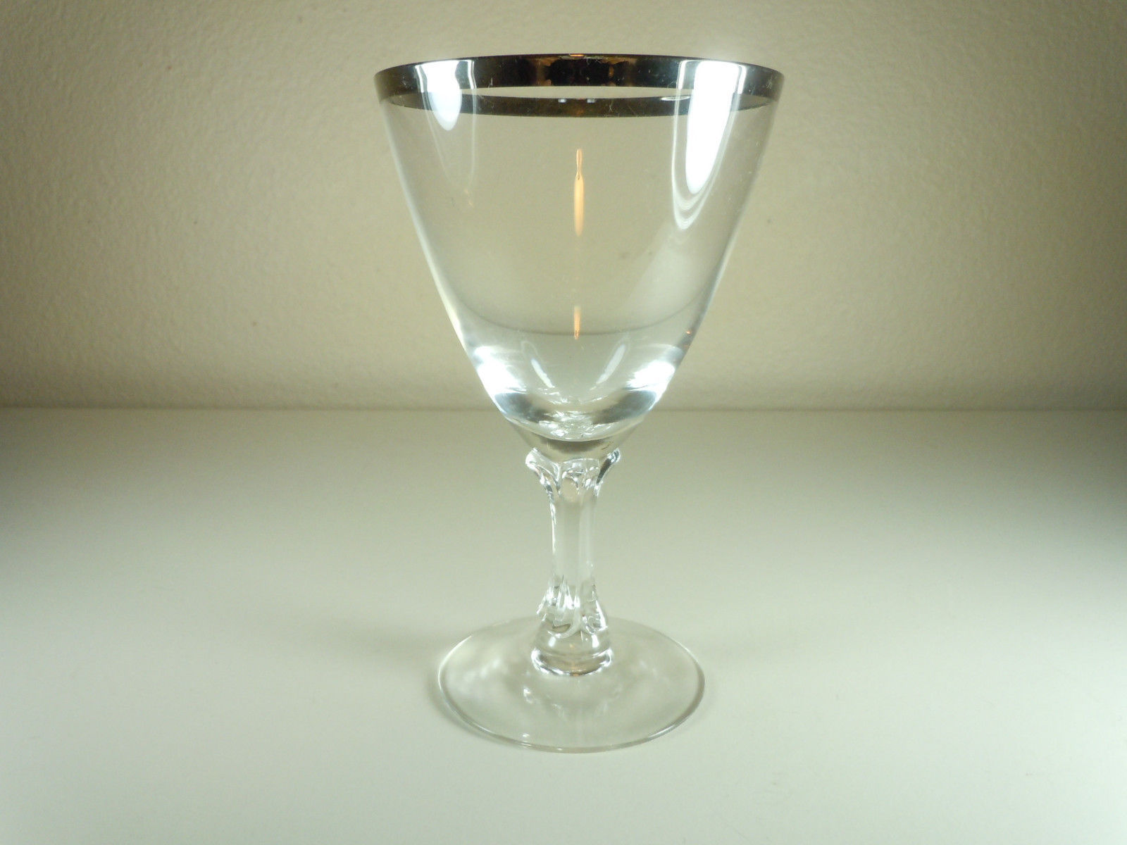 Fostoria Wedding Ring Water Goblet