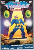 Thanos Quest: Book One (1990) - 9.4 NM 1st Print *Infinity Gauntlet Prelude* - £39.95 GBP