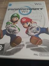 Nintendo Wii~PAL REGION Mario Kart Wii image 1