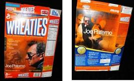 Wheaties Cereal Box Flat Empty Joe Paterno Coaching Great 2003 - $16.99