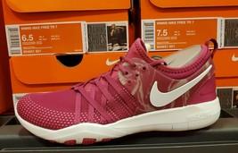 Women's Nike Free TR7 Running/Train Shoes Sport Fuchsia/White 904651-601 - $119.99