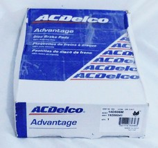 Chevrolet Buick Olds Pontiac Front Disc Brake Pads ACDelco Advantage 14D... - $26.07