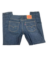 Levi's Men's 502 Premium Regular Fit Taper Stretch Dark Blue 30x32 - $19.88